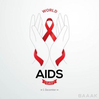 تصویر پس زمینه زیبا برای گرامیداشت روز ایدز