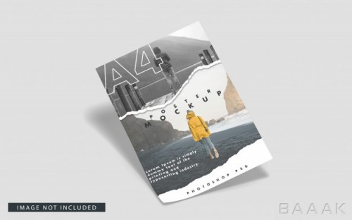 موکاپ پوستر a4