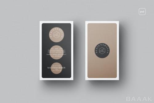 کارت ویزیت خلاقانه با طراحی مدرن