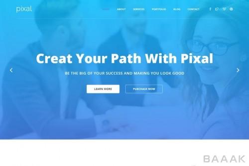 قالب آماده، خلاقانه و چند منظوره html وبسایت برای شرکت ها و استارت آپ ها و رستوران ها و... شامل 20 صفحه html و 5 هوم پیج زیبا