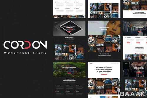 قالب وردپرس ریسپانسیو برای نمایش نمونه کارها (وبسایت های پورتفولیو) با طراحی مدرن و زیبا