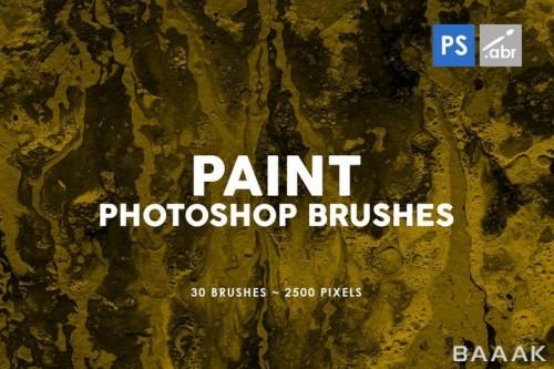 مجموعه 30 براش فوتوشاپ برای نقاشی با رزولوشن بالا