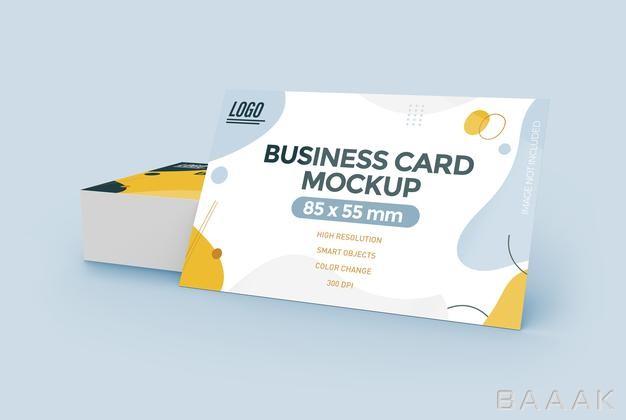 موکاپ کارت با موضوع بیزینس و کسب و کار