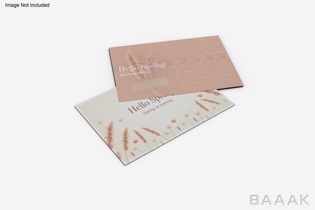موکاپ کارت پستال جذاب