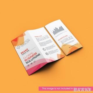 موکاپ بروشور و کاتالوگ با موضوع بیزینس و کسب و کار با طراحی خلاقانه