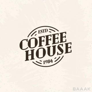 لوگو مناسب فروشگاه قهوه