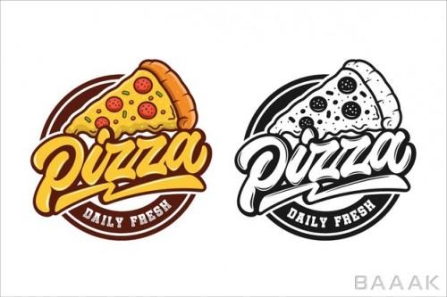لوگوی پیتزای تازه