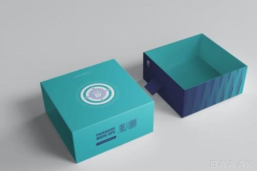 موکاپ آماده جعبه بسته بندی