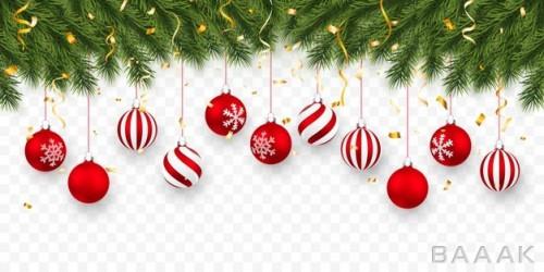بکگراند با طرح درخت کریسمس