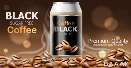 تصویر قهوه سیاه