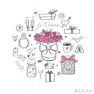 ست بنر تبریک روز ولنتاین