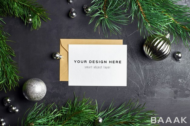 موکاپ-کارت-تبریک-کریسمس-با-طراحی-شاخه-های-درخت-کاج_550545133