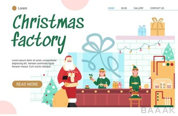 صفحه-فرود-با-تم-کریسمس_292805811