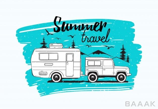 تصویر با طرح اتوبوس