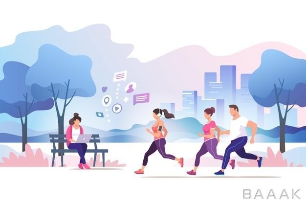 تصویر-با-مفهوم-ورزش-و-دویدن-برای-کسب-سلامتی_378500523